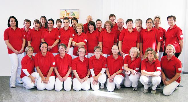 Das Team der Sozialstation Babenhausen-Schaafheim gGmbH